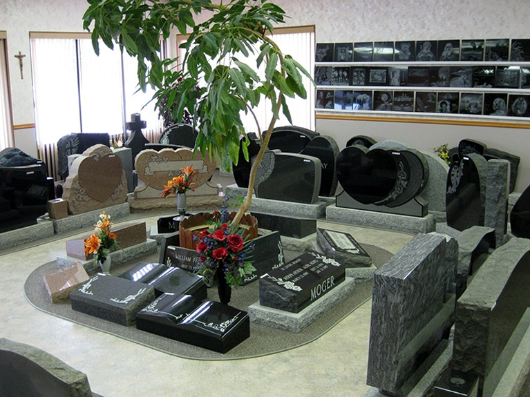 Peace County Memorials Showroom